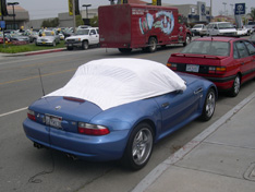 sun shade car cover BMW Z3