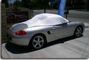 sun shade car cover Porsche Boxster