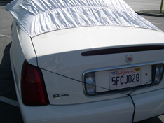 sun shade car cover Cadillac