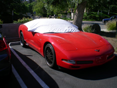 sun shade car cover Chevrolet Corvette C5