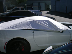 sun shade car cover Chevrolet Corvette C7