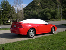 sun shade car cover Ford Mustang 2004
