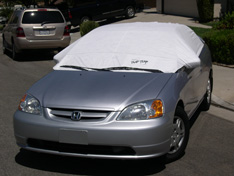 sun shade car cover Honda Civic 2005