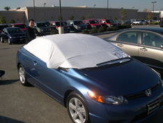 sun shade car cover Honda Civic Coupe 2006
